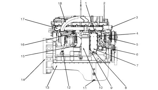 Двигатели CUMMINS. Запчасти в наличии. Купить. A1400