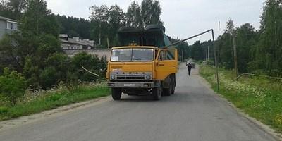 28.07.16 — грузовик повредил газопровод в Свердловской области