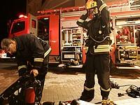 Пожар на улице Бен-Ами в Тель-Авиве: взорвался газовый баллон