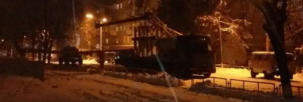 02.11.16 — В Челябинской области грузовик повредил газопровод