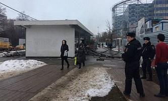 22.12.16 — Взрыв бытового газа в переходе при ведении строительных работ в Москве