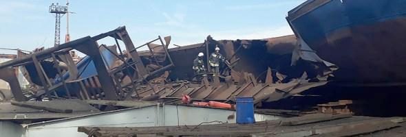 23.07.18 — взрыв газовоздушной смеси на судоремонтном заводе в Волгоградской области
