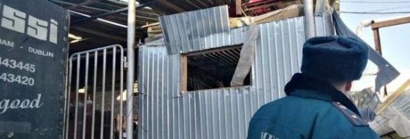09.01.19 — взрыв газового баллона с гелием на станции заправки в Иркутской области