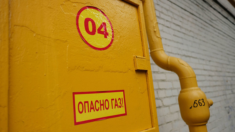 В Челябинске грузовик повредил газопровод
