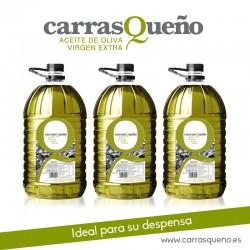 Carrasqueño Aceite de Oliva Virgen Extra - Garrafa 5 litros