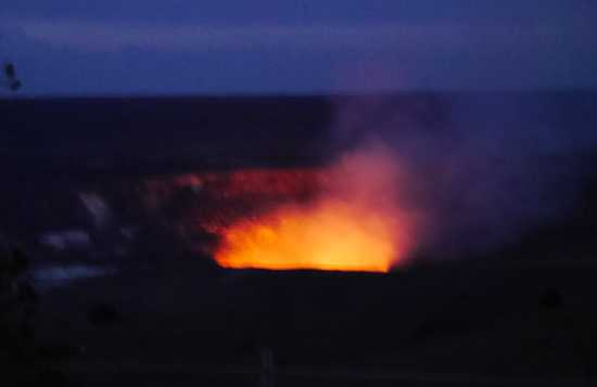 キラウエア火山展望台