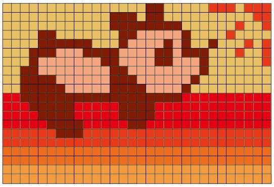 【使える図案第1弾】編み物の編み込み・刺繍に使える!猫・パンダ・英語・数字の無料(フリー)図案12種類
