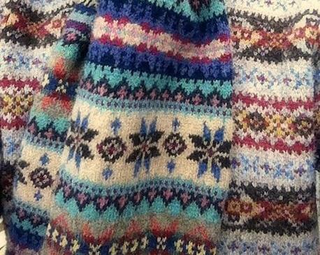 【第3回】世界の伝統的なニット「フェアアイルセーター」のお話
