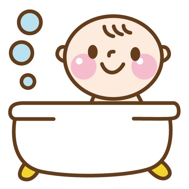 冬 赤ちゃん お風呂