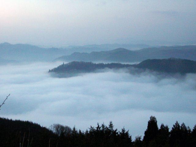 雲海 発生 条件