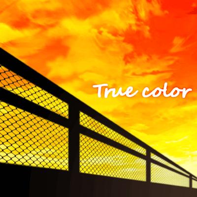 「True color」