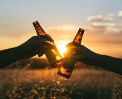 生ビールと発泡酒