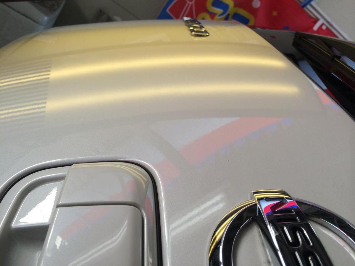 日産モコ リアゲートのヘコミ修理