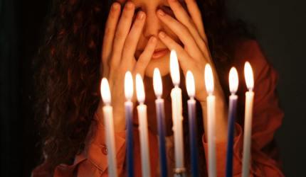 conversion au judaïsme femme aux bougies