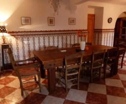 image of dining room in Cortijo Las Viñas