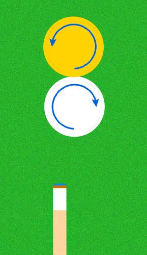 手球のヒネリの的球への影響は歯車と同じ?ビリヤードテクニック!