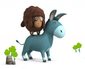 burro-y-oveja-amigos