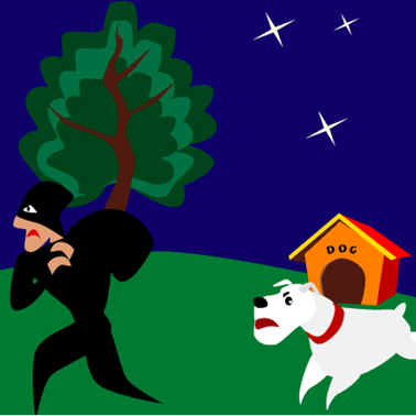 ladron derecho