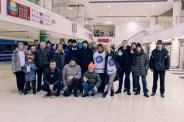 Хоккейный матч с нашими друзьями