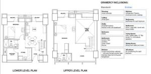 グラマシーレジデンス販売価格と部屋見取り図