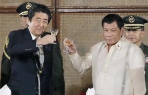 安倍晋三首相がドゥテルテ大統領と会談 南シナ海「法の支配や紛争の平和的解決を」 官民で5年間に1兆円投資_-_産経ニュース