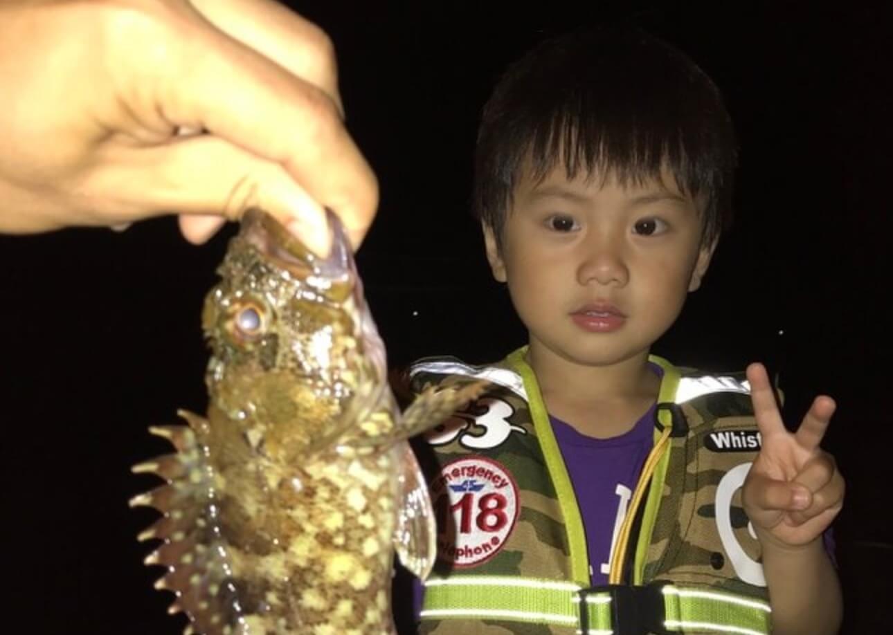 3歳の子供でも釣れたメバリング実釣記録(佐伯市畑野浦漁港)