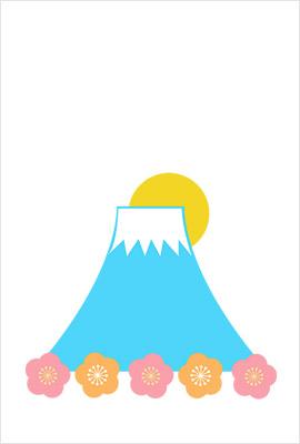 富士山イラスト1