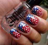 4th of july nail art - 50 Ideas