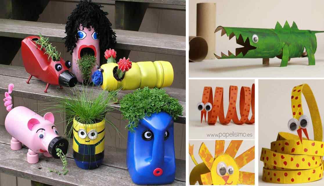 7 Ideas para reciclar con los nios