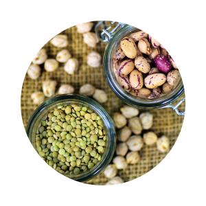 Hülsenfrüchte, Bohnen, Linsen, Lebensmittel, Nährstoffe