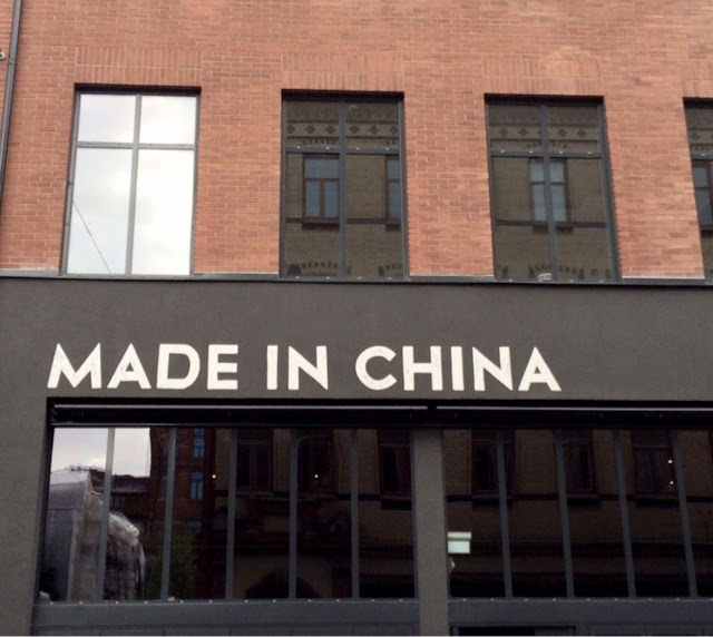 made in china göteborg