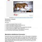 Arbeitsblatt-Wolf