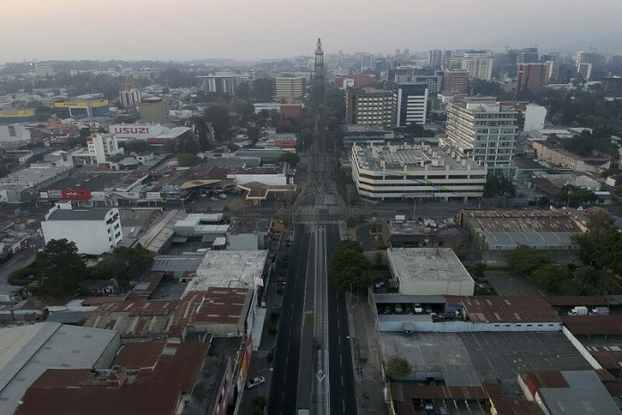 Guatemala ciudades vacías por coronavirus