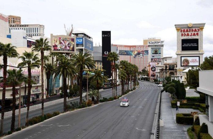 Las vengas ciudades vacías por coronavirus