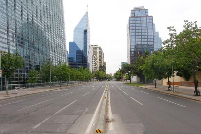 santiago de chile ciudades vacías por coronavirus