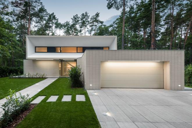 Casa fachada moderna