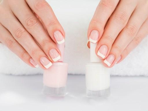 Ejemplos de uñas acrílicas sencillos