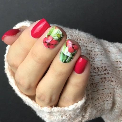Adhesivos gigantes para uñas, edición veraniega