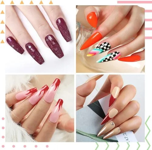 Mejores diseños de uñas sencillas semipermanentes 2021/2022