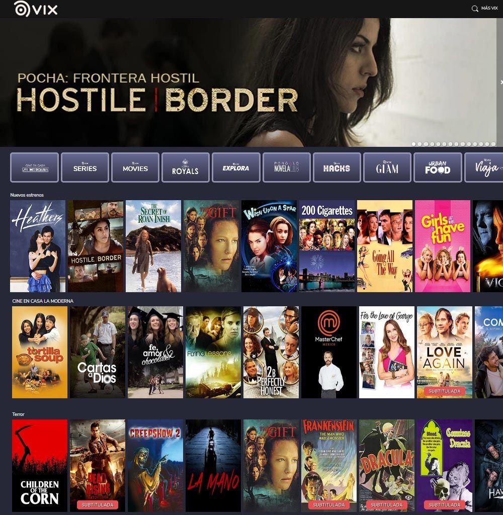 Vix TV - Diseño Webs - Ver Televisión y Películas (GRATIS)