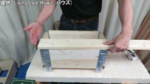 かんたんDIY スタッキングヒンジで折りたたみ収納ボックス (31)