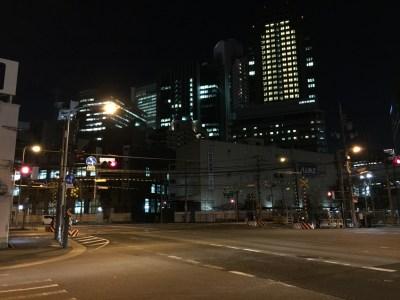 大阪/福島 フジヤマドラゴン福島店 JR梅田貨物線