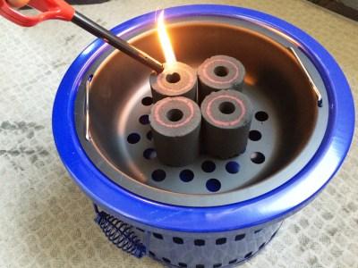 バーベキュー BBQ 炭 火の付け方 簡単 着火剤なし 着火剤不要 七輪 マジック炭使い方 簡単着火炭