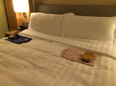 インターコンチネンタルホテル大阪 プレミアムスイート 宿泊記 感想 口コミ アクセス ベッドサイズ 写真 レイアウト グランフロント 梅田