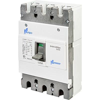 Выключатель ВА04-35 Про 3p 250А