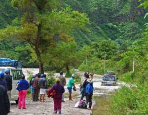 дорога в Куелап
