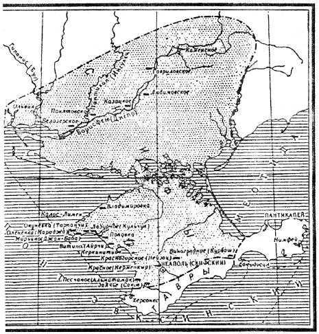Территория Скифского государства во II в н.э.