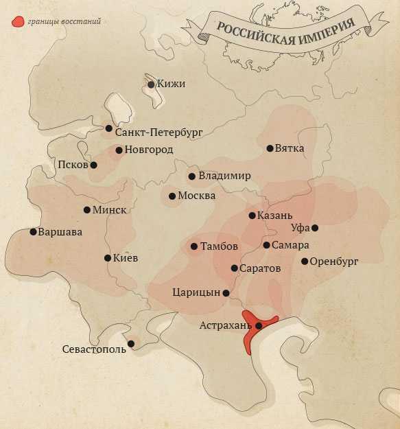 народные восстания в России