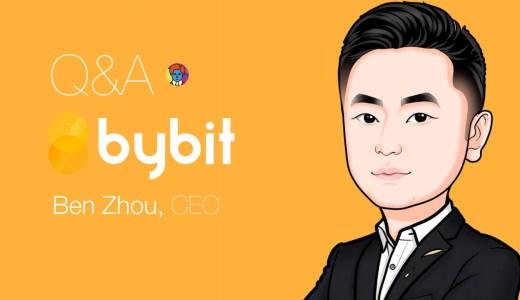 Bybit(バイビット)CEOのBen Zhou氏にインタビュー