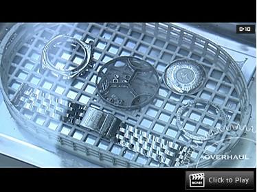 ブライトリング時計のオーバーホール工程